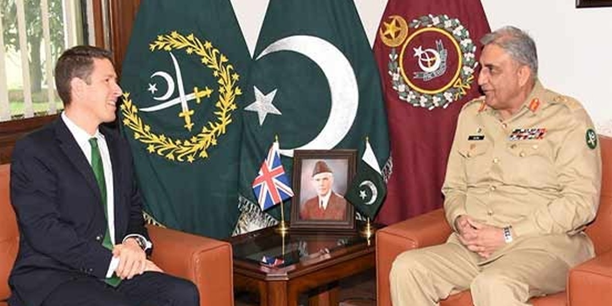 COAS, British High Commissioner Discuss Afghan Peace Process
