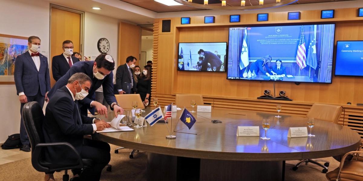 Israel, Muslim-Majority Country Kosovo Announce Resumption of Diplomatic Ties