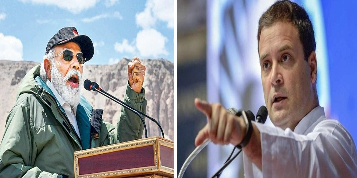 Rahul Gandhi Alleges Modi Handed Over Indian Land To China In Ladakh