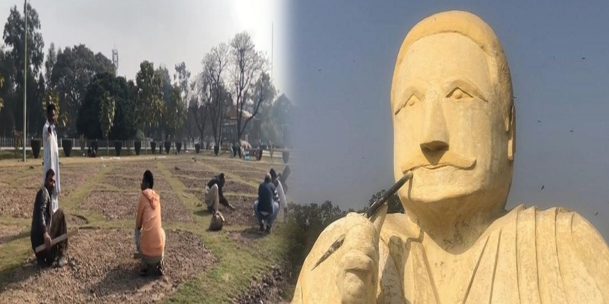 'Our Hearts Are Crying', Says Gardner Who Built Allama Iqbal's Sculpture