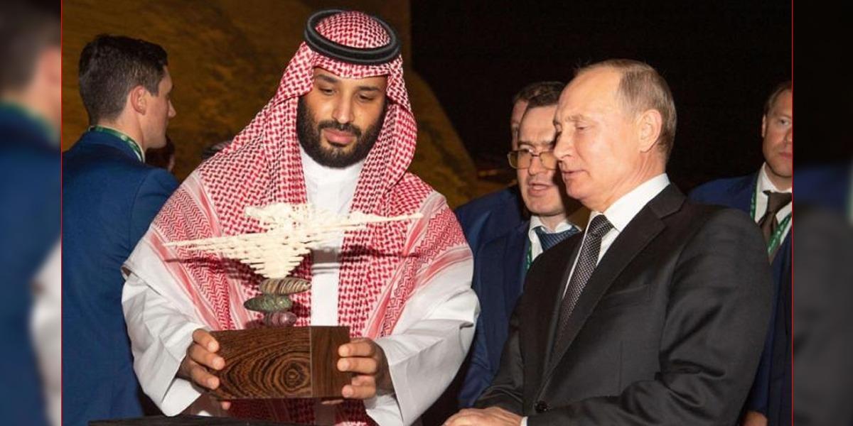 Saudi Crown Prince, Putin Discuss 'OPEC Plus' Agreement