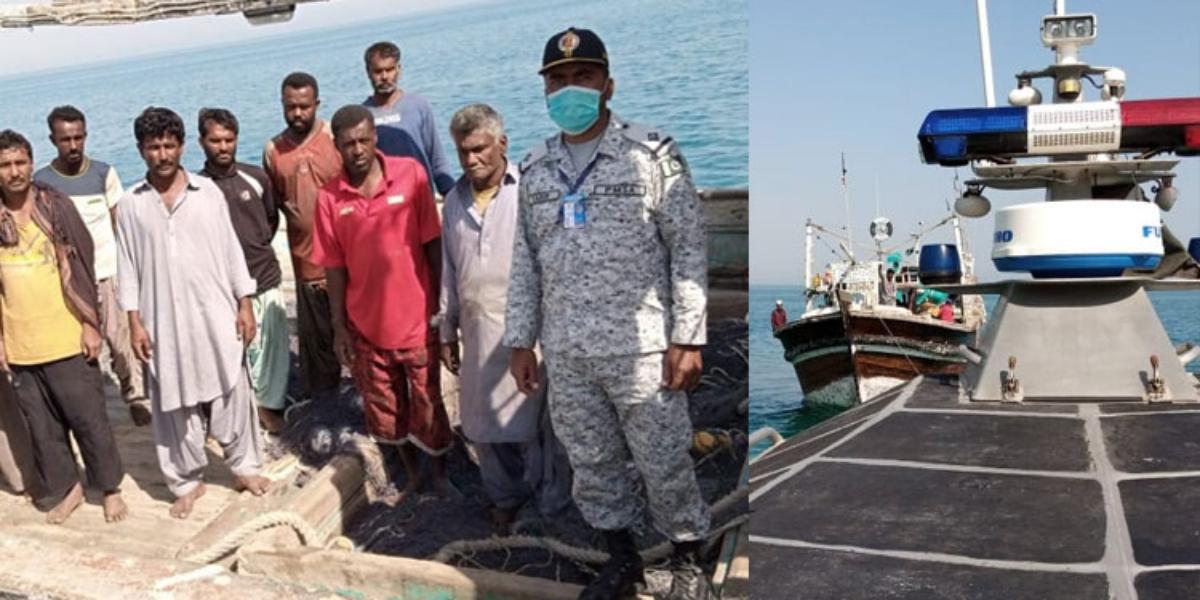 PMSA Rescues 3 Fishing Boats And Saves 65 Lives