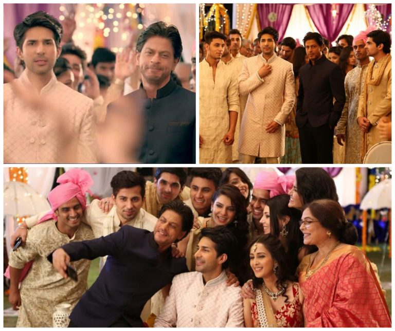 Adeel Chaudhry with SRK