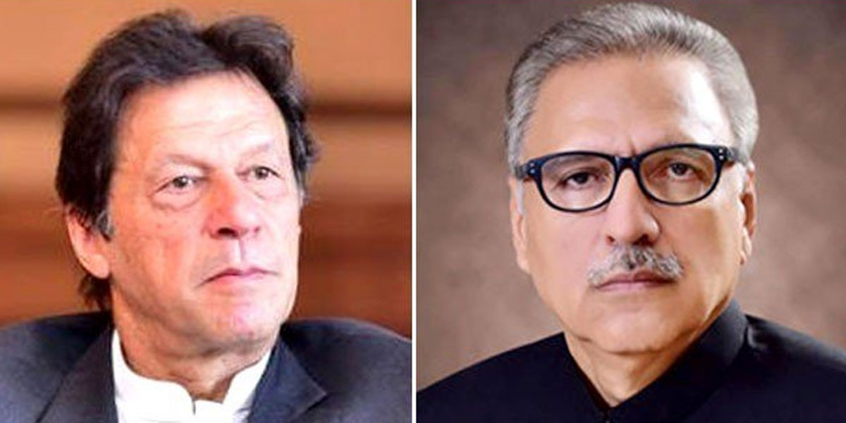 PM imran, President give stern message to enemy on Defence Day