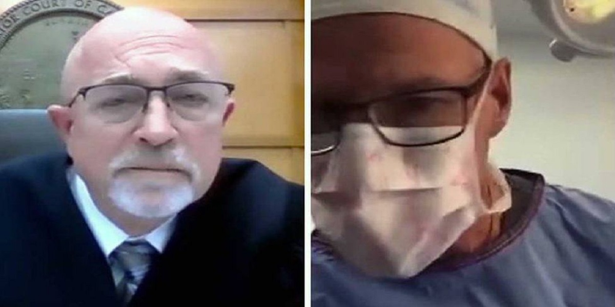 Doctor joins Zoom court hearing while operating on patient
