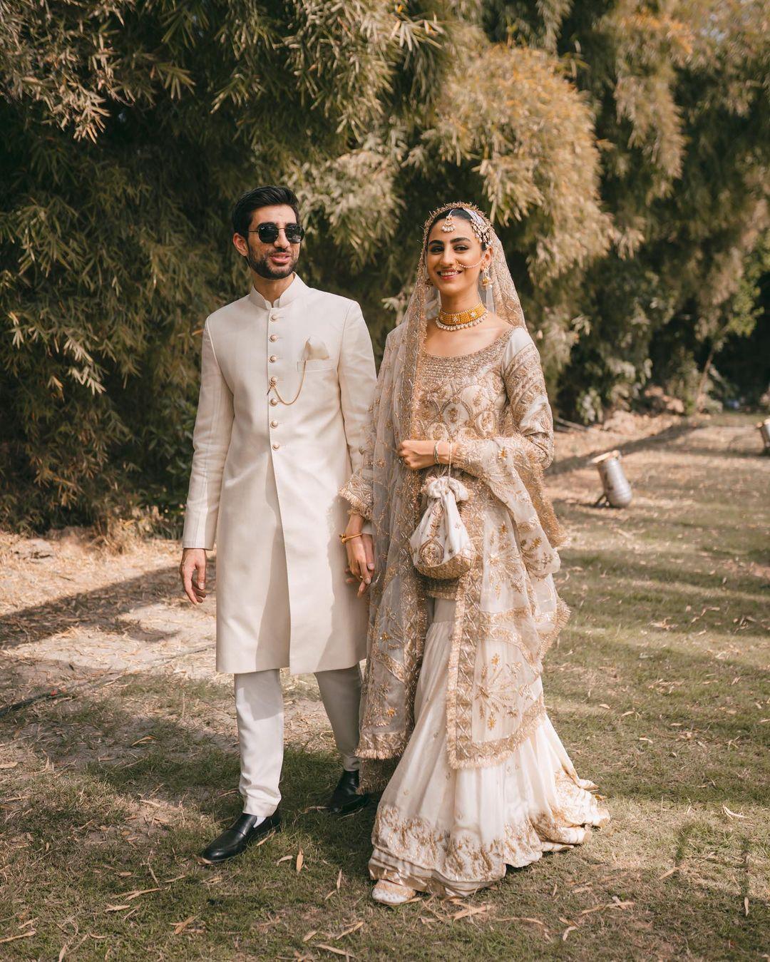 Rehmat Ajmal ties the knot, shares swish wedding ceremony photographs