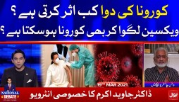 COVID19 Vaccine 100% effective   National Debate with Jameel Farooqui Complete Episode 21 March 2021