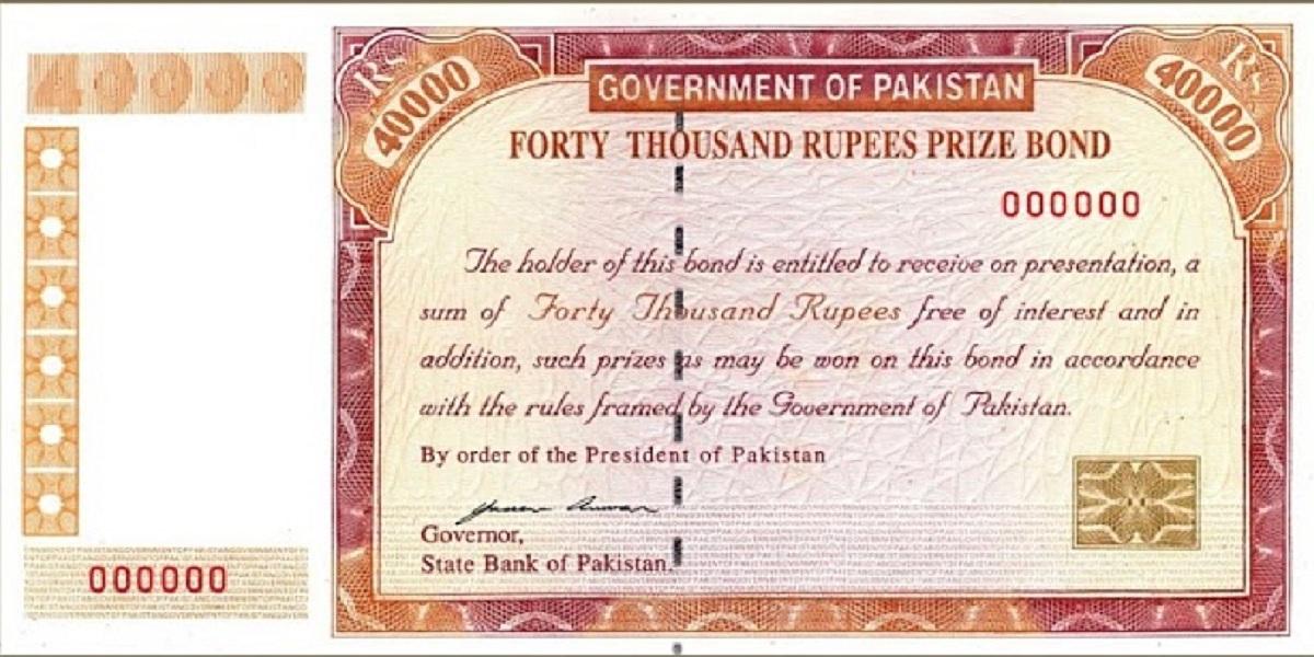 40000 Premium Prize Bond List 2021