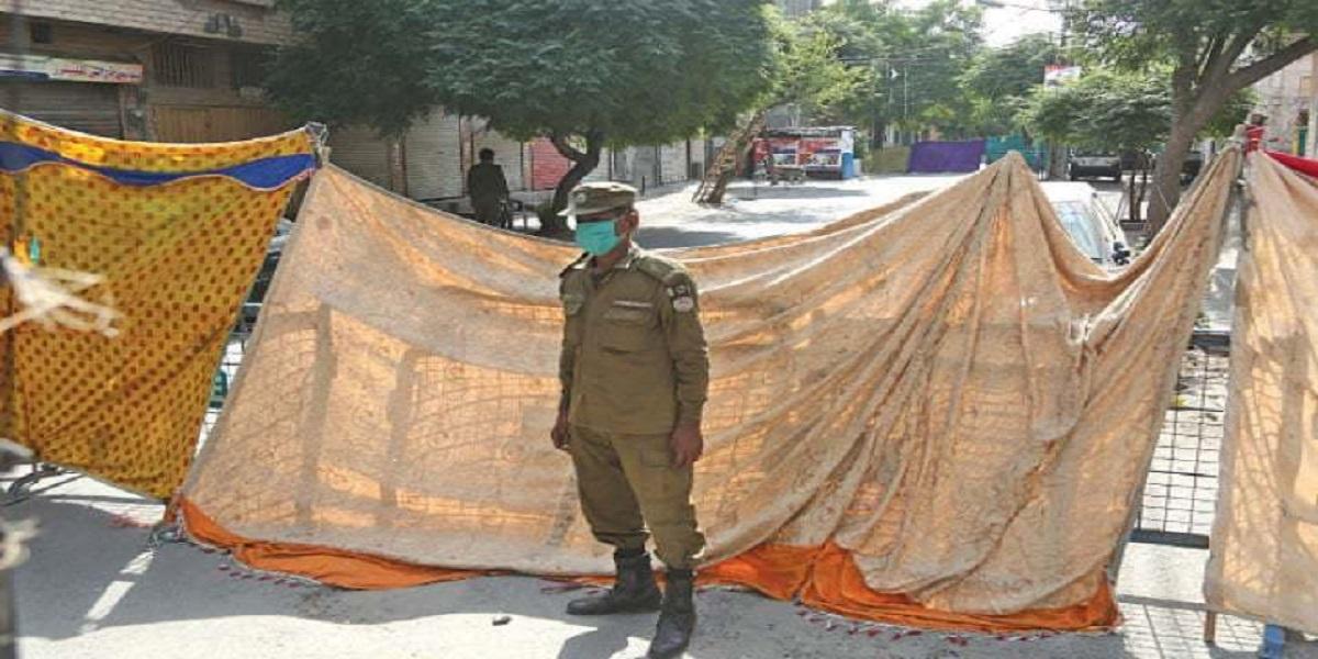 Lahore lockdown coronavirus