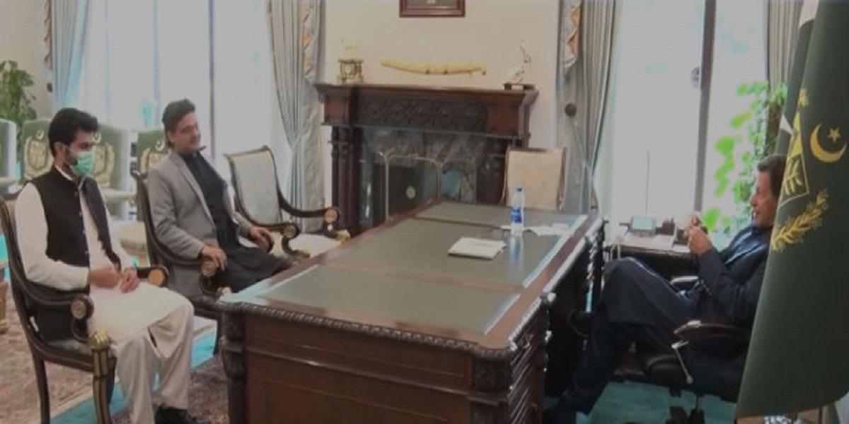 PM Khan poverty meeting