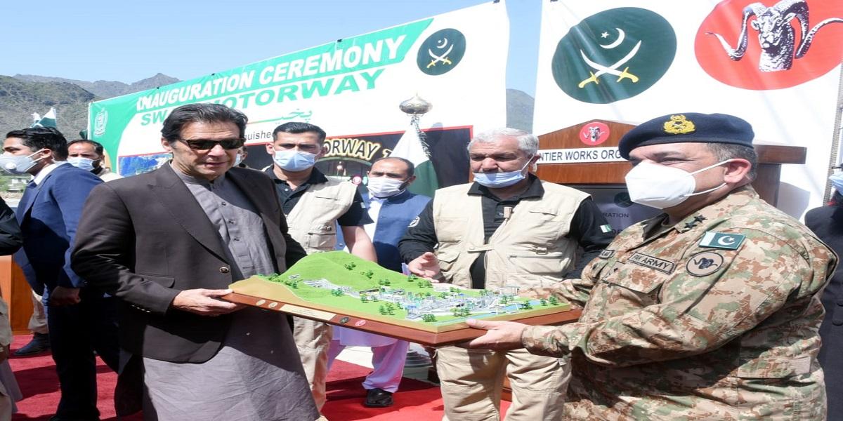 PM Khan inaugurates tunnels along Swat Expressway today