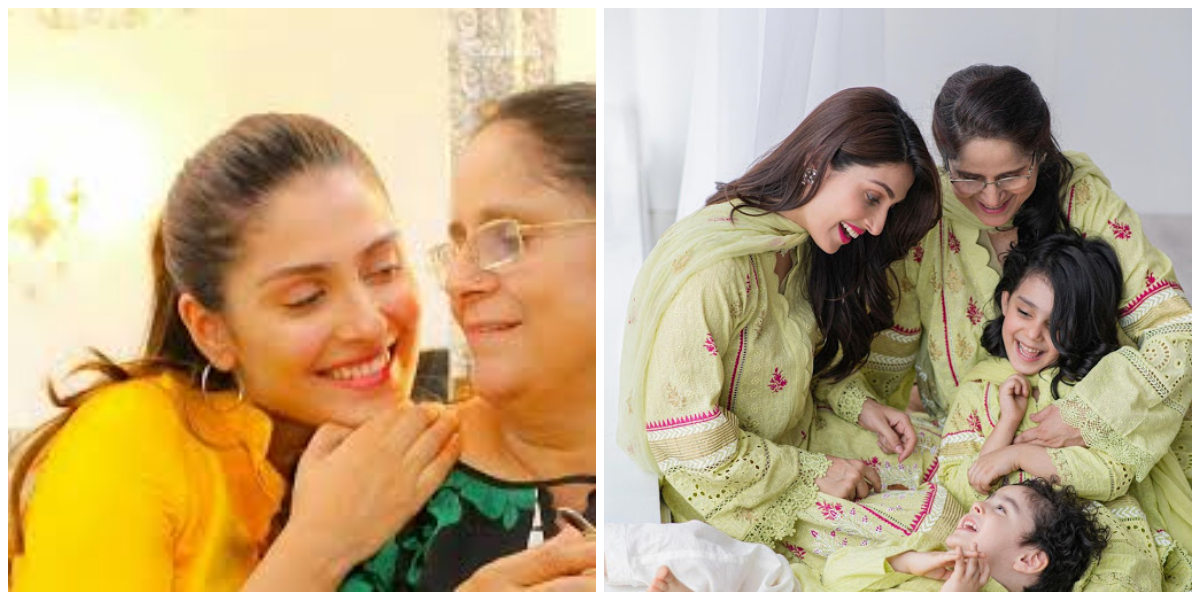 Ayeza Khan mom