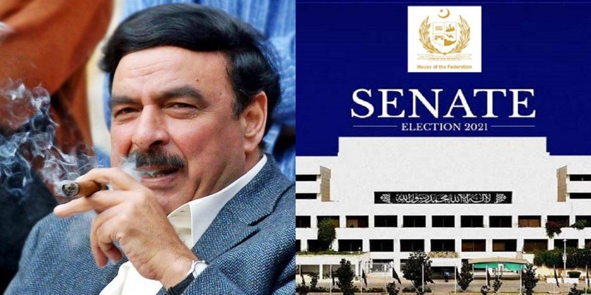 Sheikh Rasheed Senate election 2021