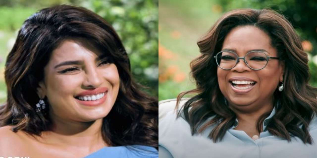 Oprah Winfrey Priyanka Chopra
