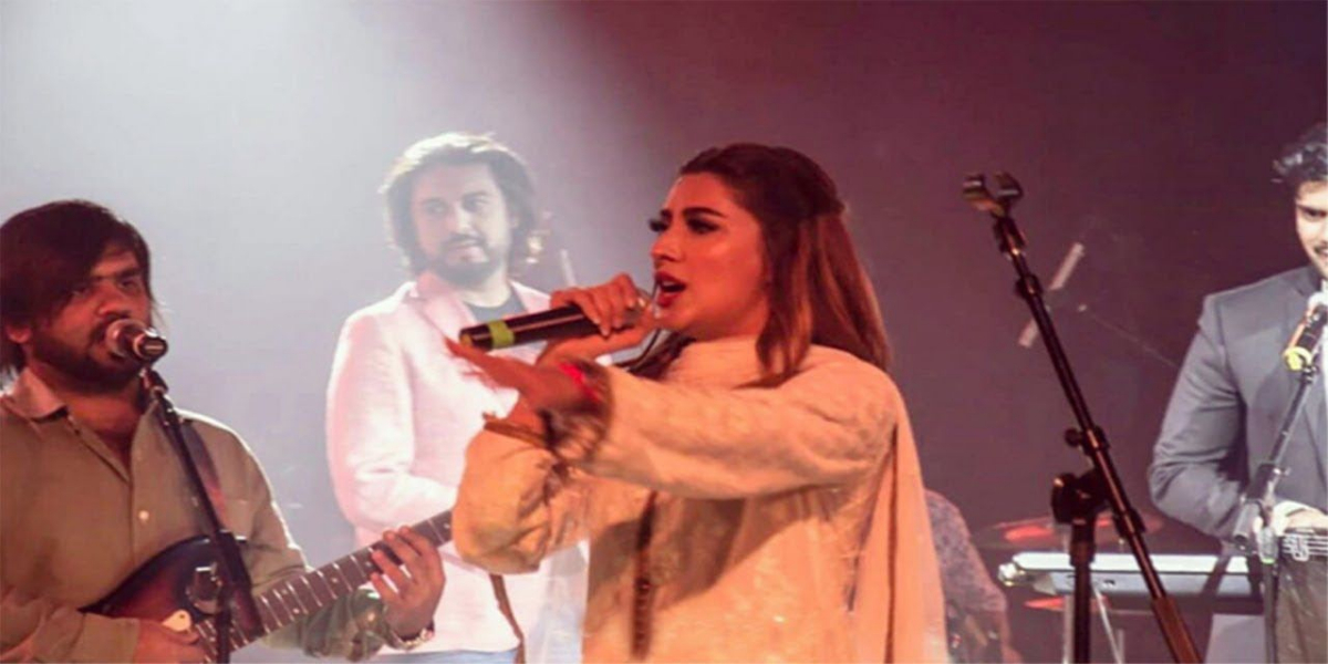 Mehwish Hayat's favorite song