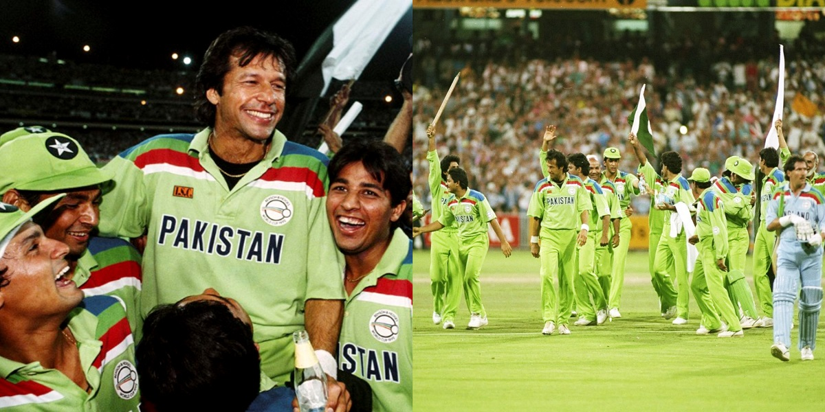 World Cup 1992: Twitter relives Pakistan's historic victory