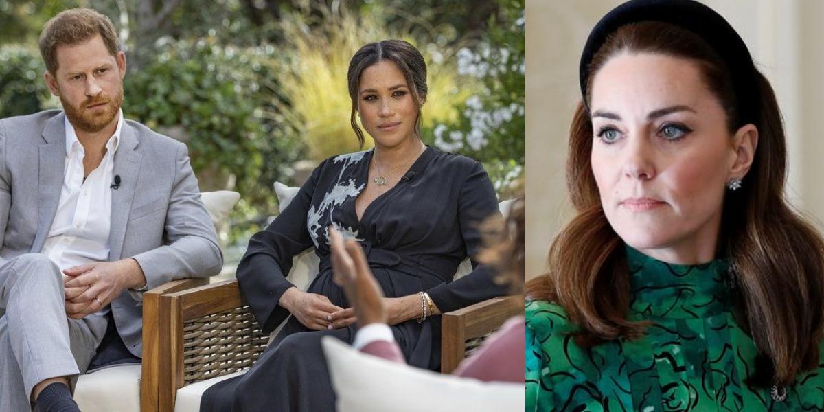 Kate Middleton Meghan Interview