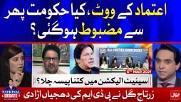 Imran Khan vs PDM   Zartaj Gul vs Miftah Ismail   National Debate with Jameel Farooqui   6 Mar 2021