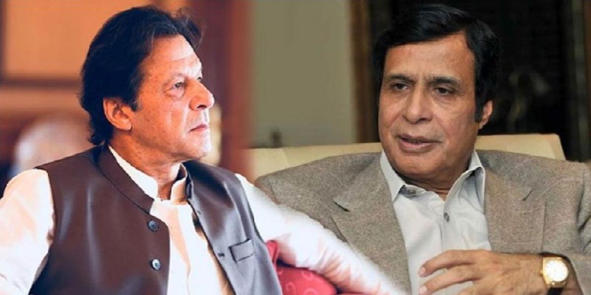 PM Imran calls Pervaiz Elahi