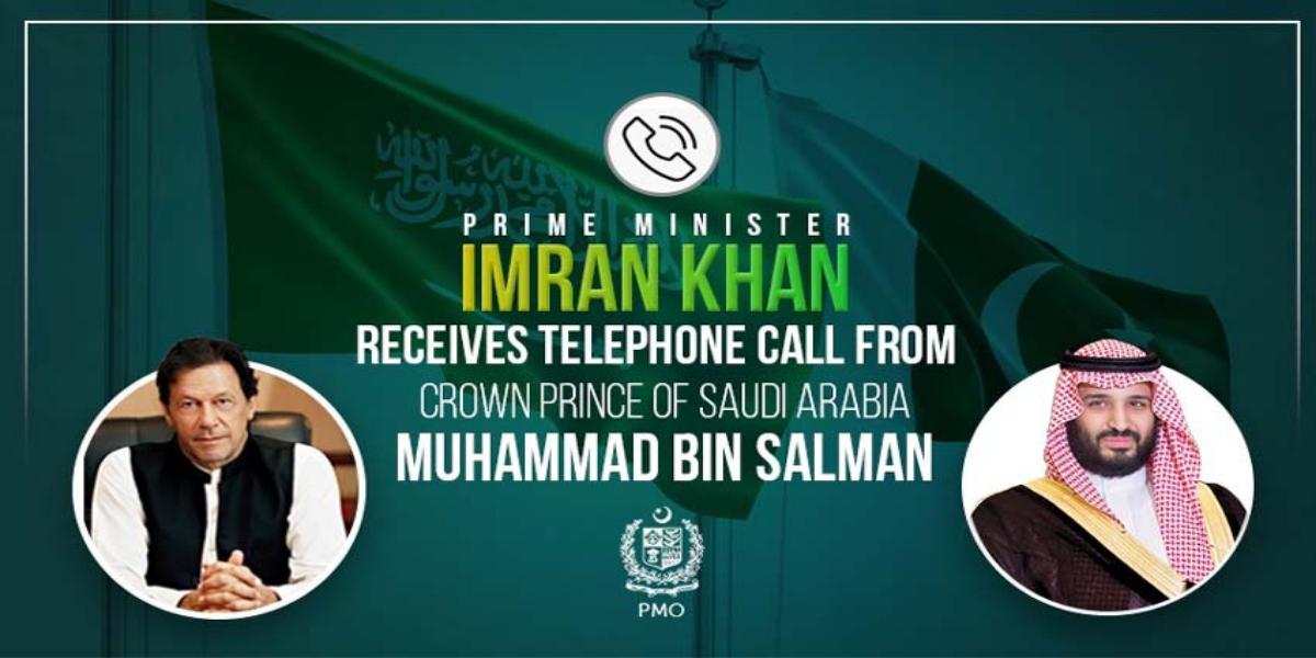 PM Imran Saudi Crown Prince