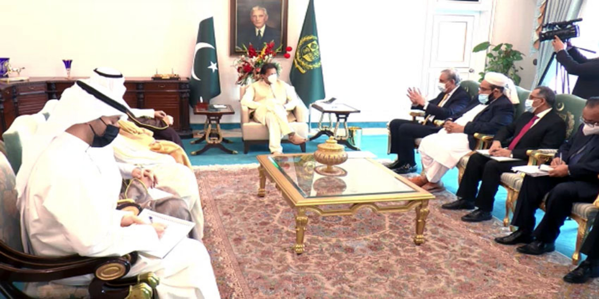PM Imran meets Kuwaiti Foreign Minister