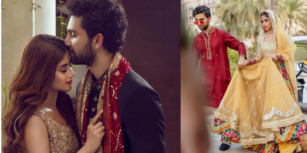 Sajal Ahad Wedding Anniversary