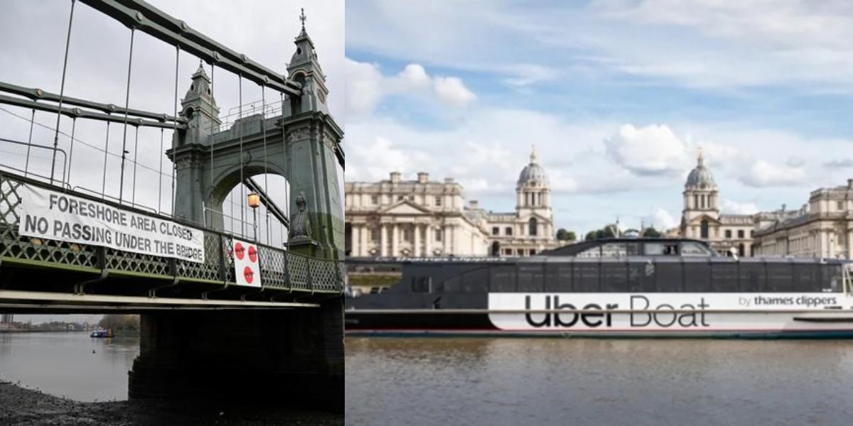 UBER Boat service London