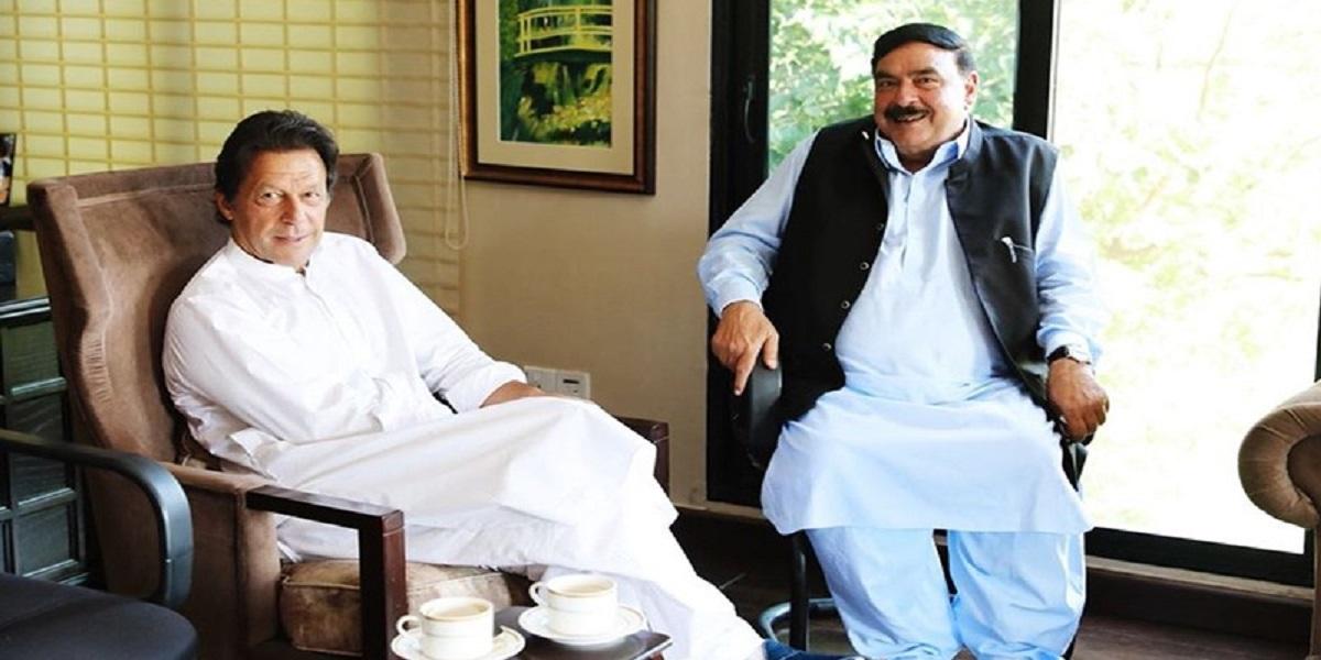 PM Khan Interior Minister Sheikh Rasheed