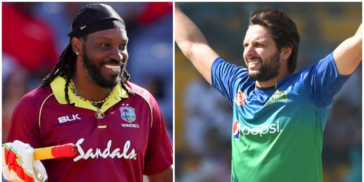 Shahid Afridi extends a jocular reply to Chris Gayle's birthday greeting