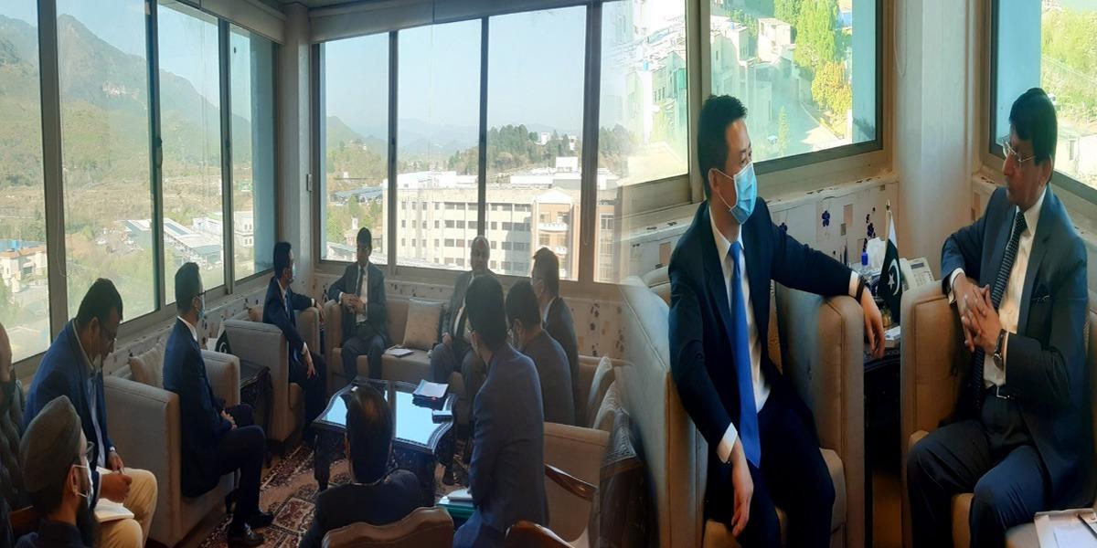 Huawei delegation Pakistan