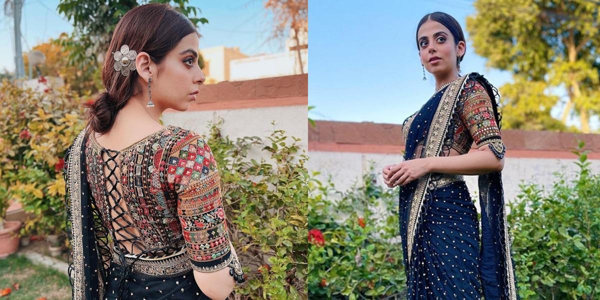 Yashma Gill in Saree