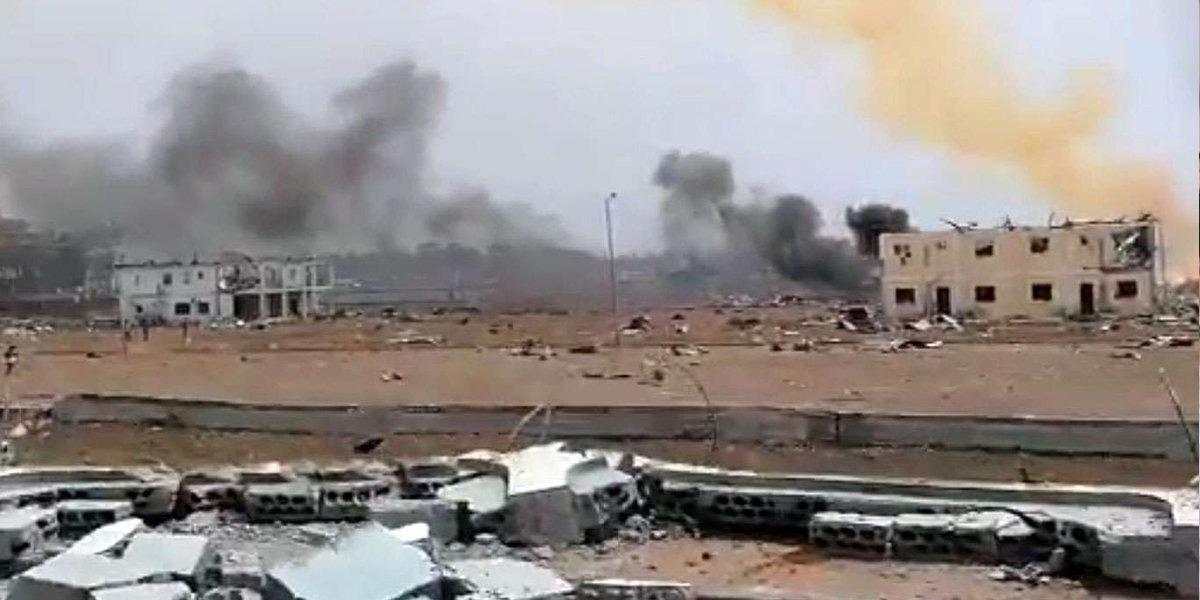 Guinea blasts kill more than 30