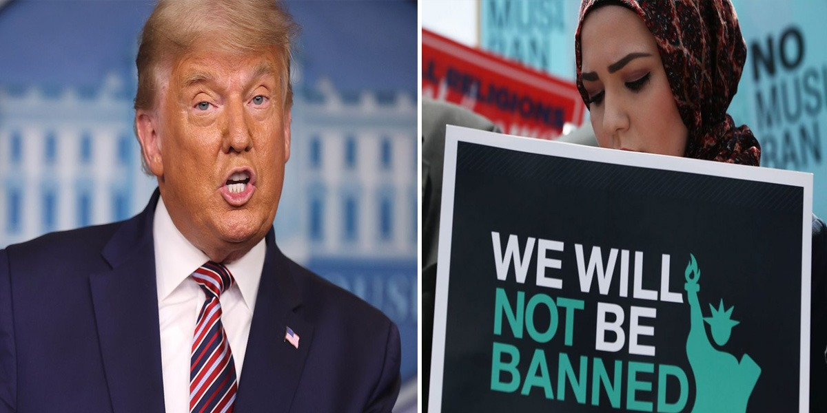 Muslim ban by Donald Trump