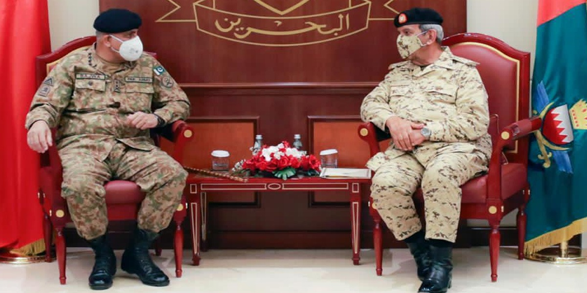 COAS Offers Bahrain Complete Support In Achieving Shared Interests