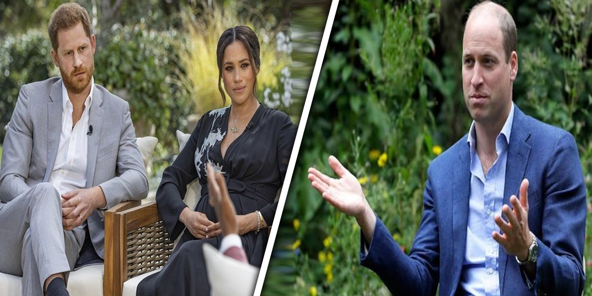 Prince William Harry Meghan interview