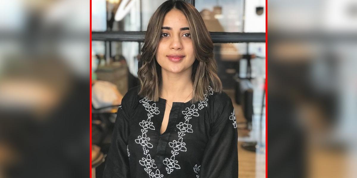 Saboor Aly hair