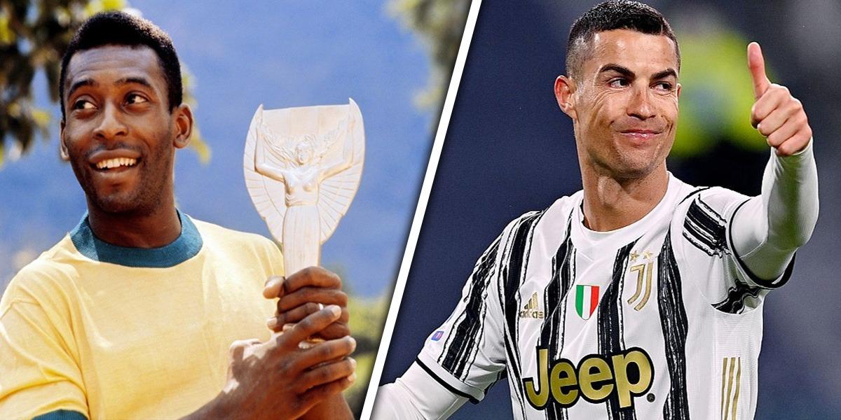 Ronaldo Pele record