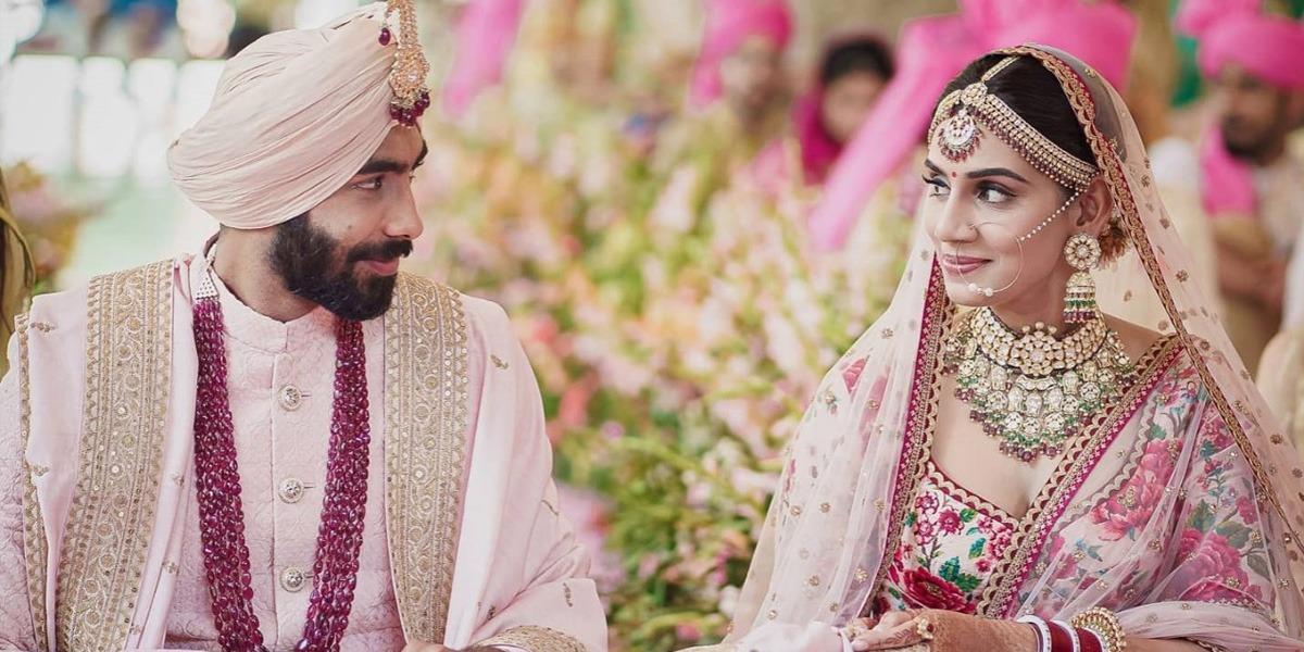Bumrah marries