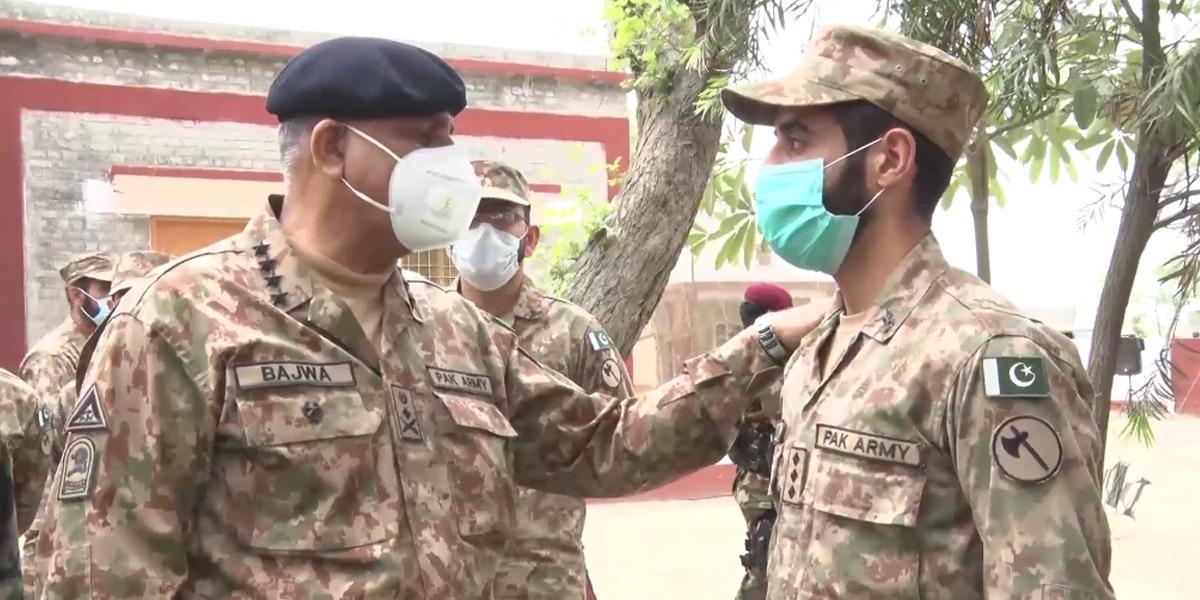 COAS visits Lahore Corps