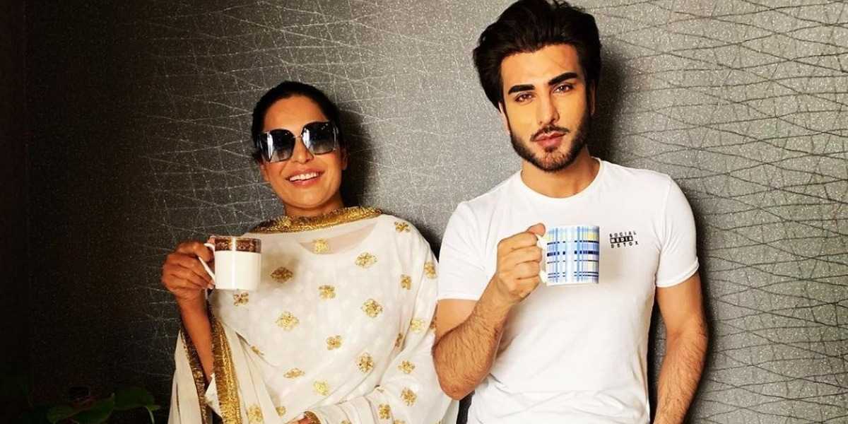 Meera Jee meets Imran Abbas