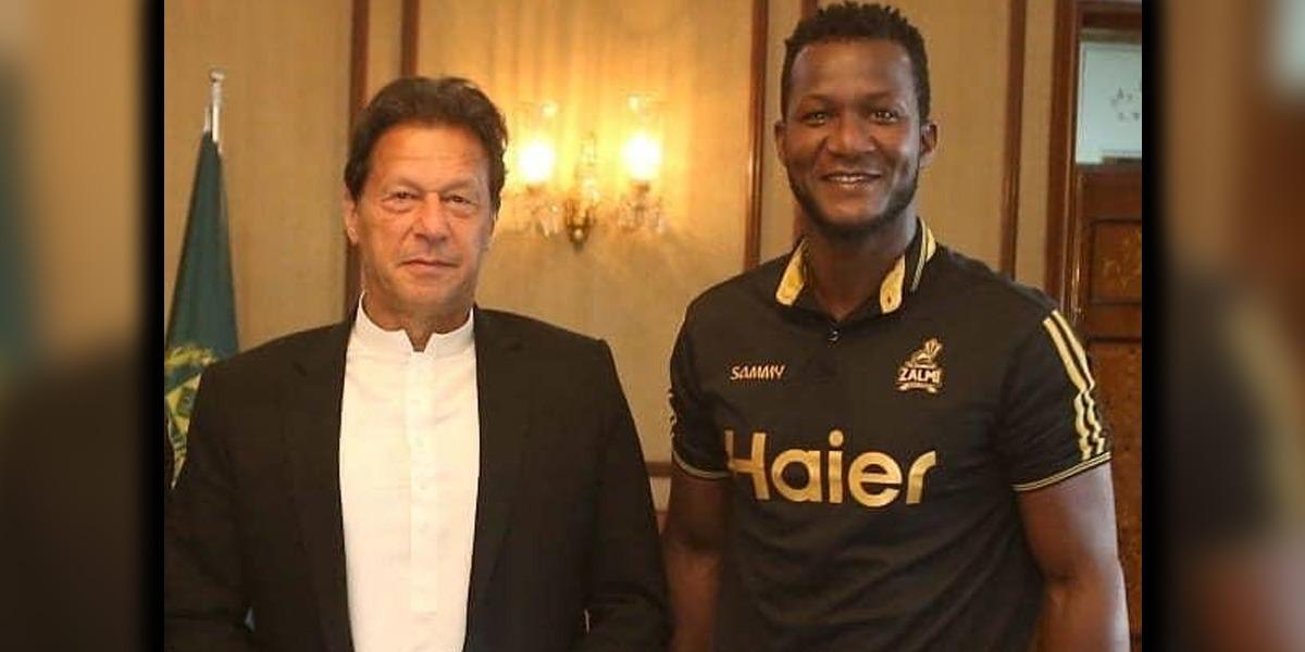 Daren Sammy wishes good health to PM Imran