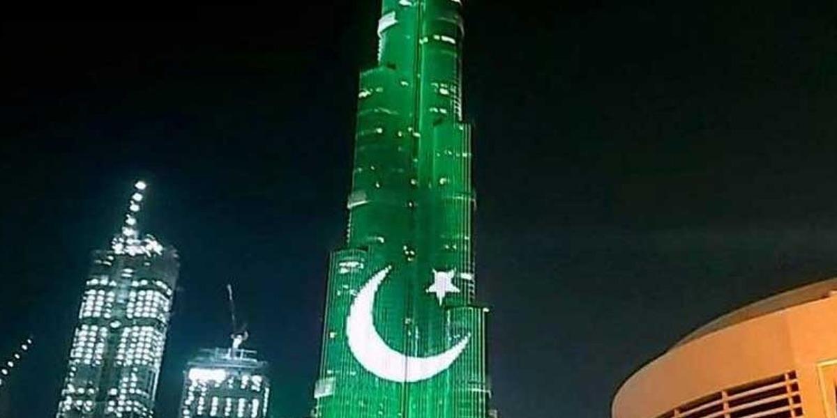 Burj Al Khalifa Pakistan Day