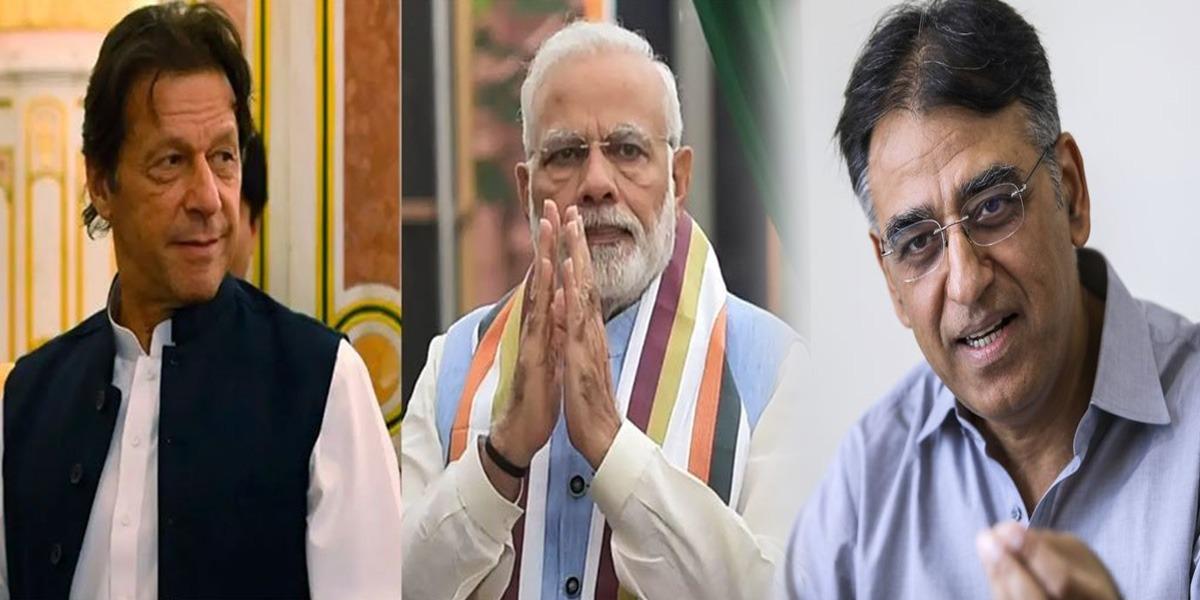 Modi writes letter to PM Imran