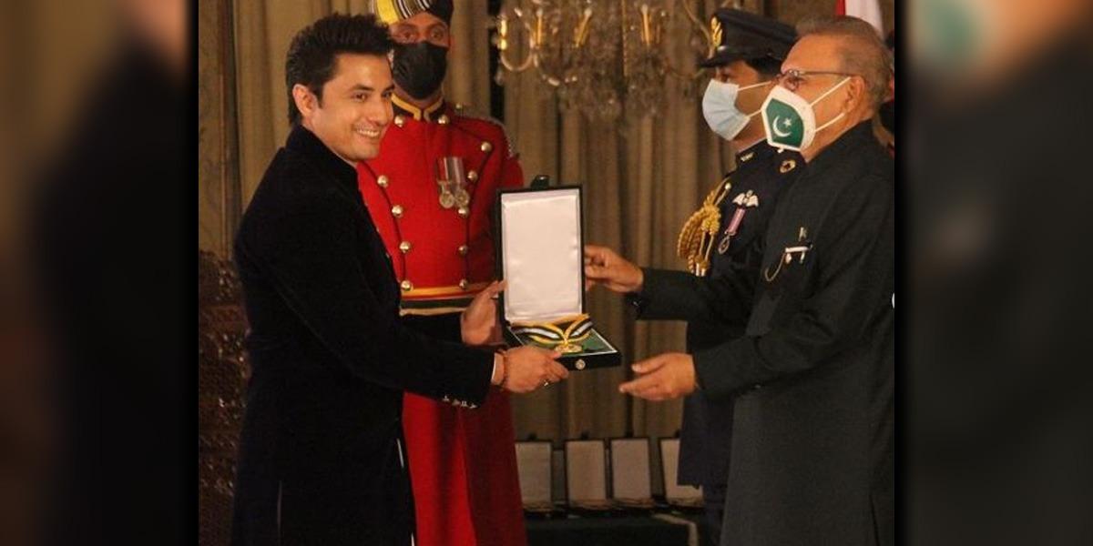 Ali Zafar Pride of Performance
