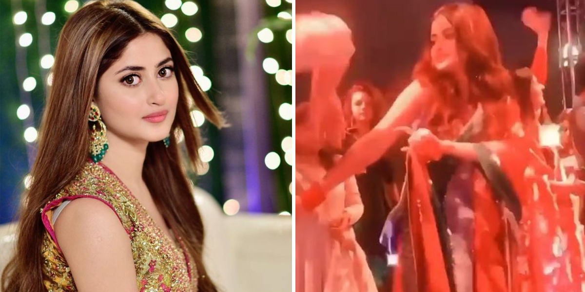 WATCH: Sajal Ali Dances Her Heart Out At A Recent Wedding