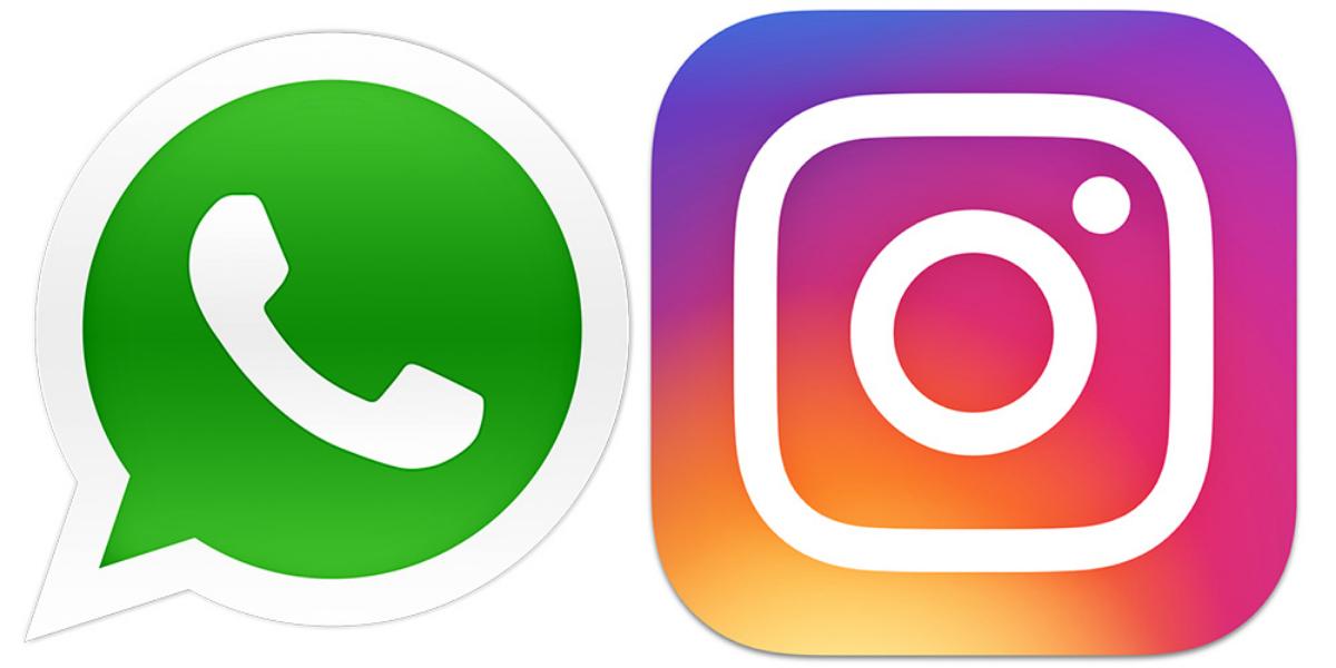 WhatsApp Instagram down