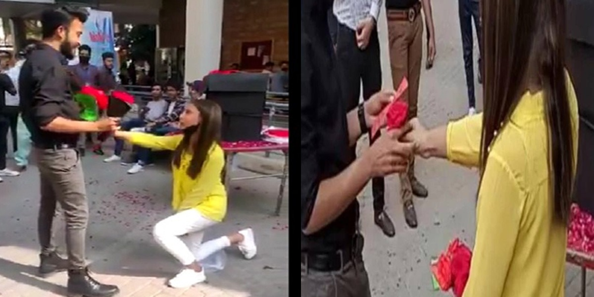 University Of Lahore Expels Students After 'Proposing' Video Goes Viral