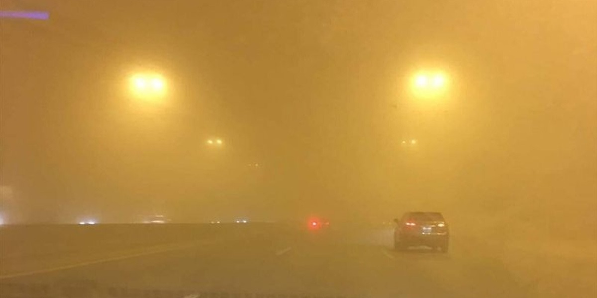 Dust Storm, Strong Winds Hit Different Parts Of Saudi Arabia