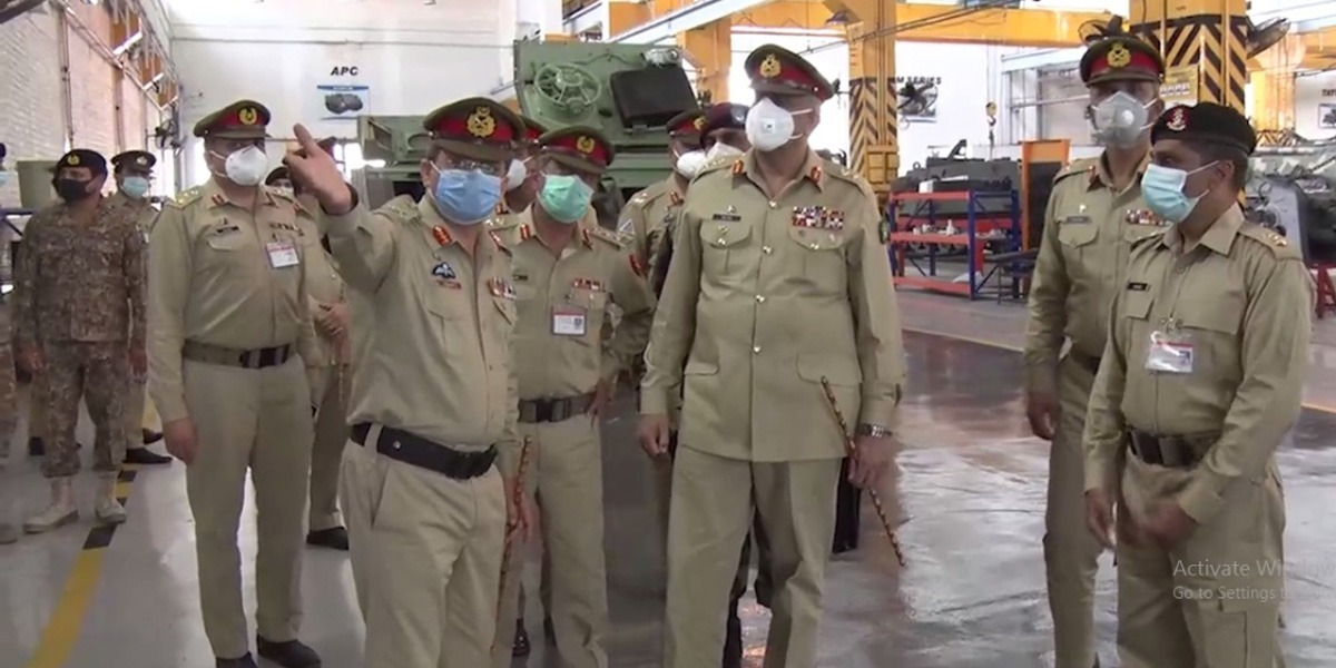 COAS Visits Multiple Logistic Installations / Workshops At Rawalpindi Station