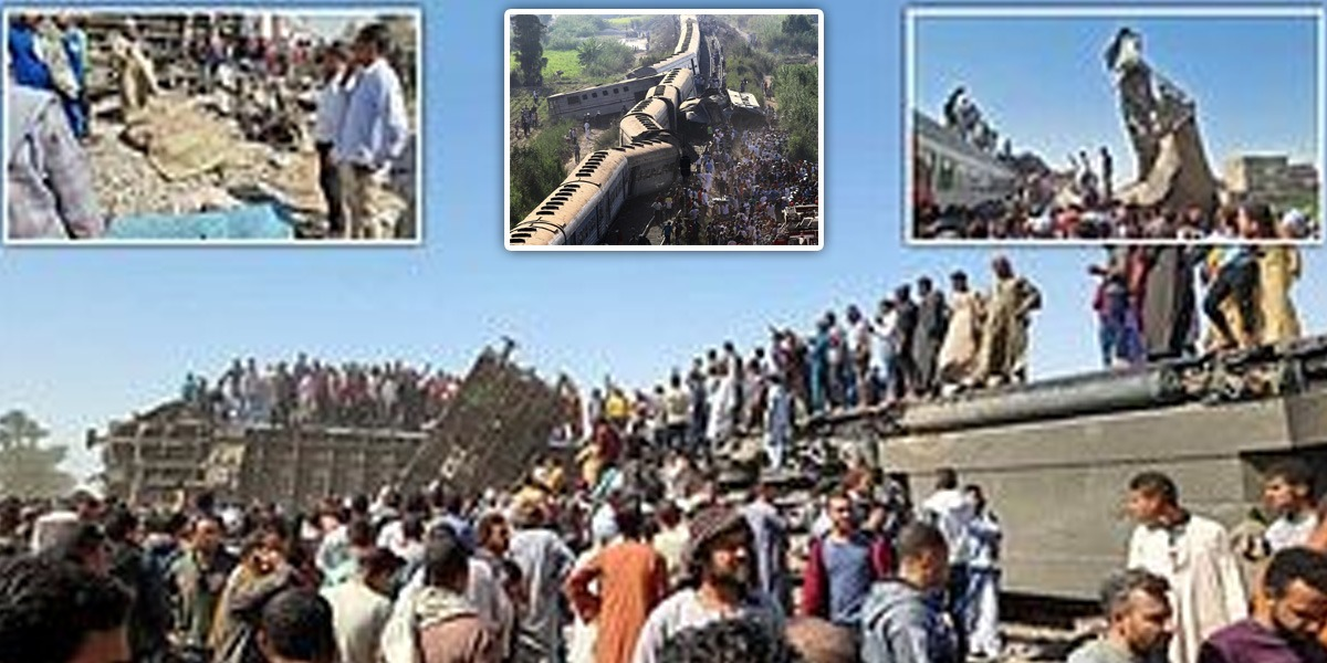 32 killed, Multiple Injured As Trains Collide In Egypt